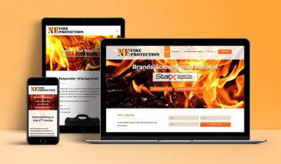 Ny hemsida NE Fire Protection