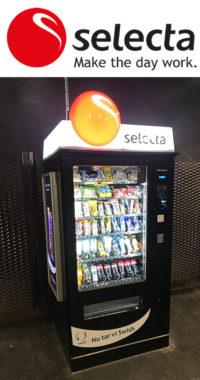 Selecta Varuautomat Stationer